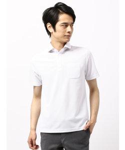 【WE SUIT YOU】コットンライクホリゾンタルカラーポロシャツ