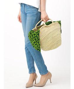 ◆【CONTROL FREAK】パーニュ袋付き かごバッグ◆