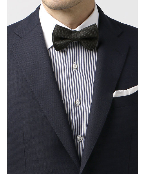 【blazer's bank.com】織柄シルク蝶ネクタイ