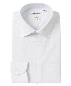 【SUPER EASY CARE】ワイドカラードレスシャツ 無地 〔EC・FIT〕