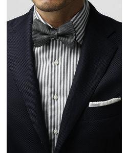 【blazer's bank.com】織柄 シルク蝶ネクタイ