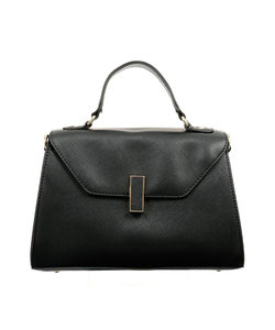 ◆destyle/サフィアーノ調型押し サブバッグ付きハンドバッグ◆
