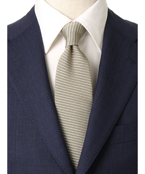 【blazer's bank.com】●JAPAN MADE●織柄ネクタイ