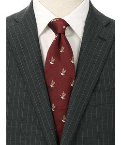 【blazer's bank.com】●JAPAN MADE●バード柄ネクタイ