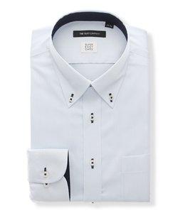 BASIC/SUPER EASY CARE/ボタンダウンカラードレスシャツ 無地