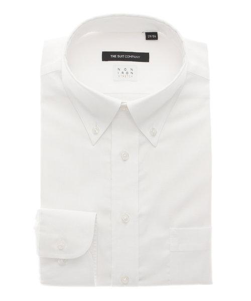 BASIC/NON IRON STRETCH/ホリゾンタルカラードレスシャツ 織柄