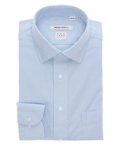FIT/NON IRON STRETCH/ワイドカラードレスシャツ 織柄