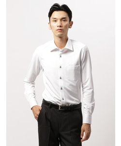 COMMUTECH TRAVELER/FIT/ノンアイロンジャージー/ワイドカラードレスシャツ