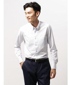 COMMUTECH/FIT/ノンアイロンジャージー/ボタンダウンカラードレスシャツ ストライプ