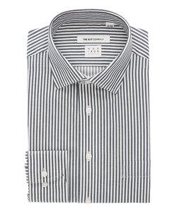 FIT/NON IRON STRETCH/ワイドカラードレスシャツ ストライプ