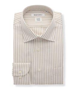 FIT/SUPER EASY CARE/CLEANSE/ワイドカラードレスシャツ ストライプ