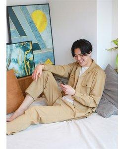 HEYA WEAR/ウォッシャブル/ストレッチ/J002ポンチジャージーオープンカラーシャツ