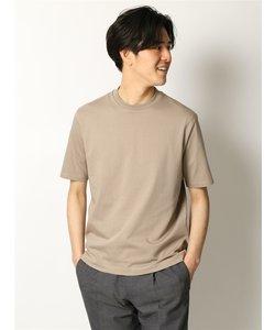 COMMUTECH ACTIVE/ウォッシャブル/RENUコットン天竺 クルーネック半袖Tシャツ