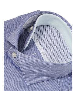 FIT/QUICK TOUCH/ホリゾンタルカラードレスシャツ 織柄