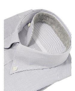 FIT/QUICK TOUCH/ボタンダウンカラードレスシャツ ピンストライプ