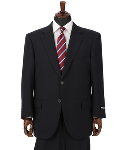 【ストレッチ】【撥水・撥油】【ツーパンツ】スタンダードスーツ(キング&トール)