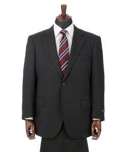 【形状記憶プリーツ】【ツーパンツ】スタンダードスーツ(キング&トール)