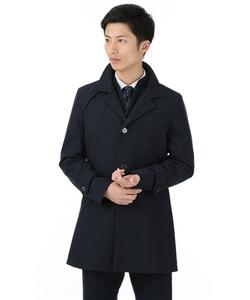 【合繊】【スタンドカラー】スタイリッシュコート