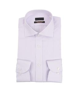 【長袖】【プレミアム】【ワイドカラー】スタイリッシュワイシャツ