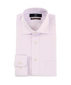 【長袖】【NON IRONMAX】【ワイドカラー】スタイリッシュワイシャツ
