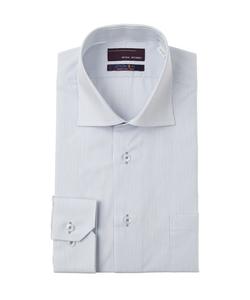 【長袖】【ワイドカラー】スタイリッシュワイシャツ
