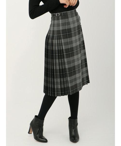 ◆【O'NEIL OF DUBLIN】チェックキルトプリーツスカート◆