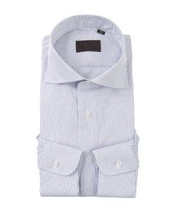 ホリゾンタルカラードレスシャツ ストライプ