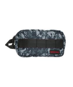 【BRIEFING】QL DOUBLE ZIP POUCH-2 ダブルジップポーチ