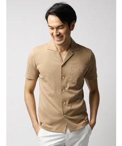 プラチナコットンオープンカラーシャツ