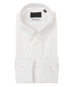 ボタンダウンカラードレスシャツ シャドーストライプ ≪Fabric by Albini≫