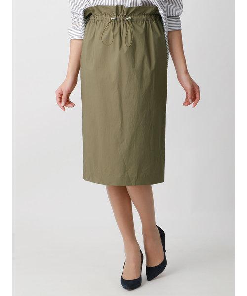 ハイカウントタイプライターストレッチ スピンドルタイトスカート