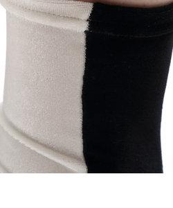 縫製ベロア2トーンソックス
