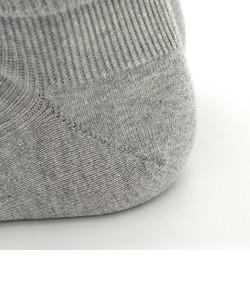 ラメ杢折返しソックス24~26cm