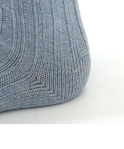 ラメ杢3×3リブソックス24~26cm
