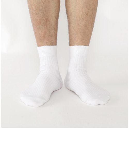 メンズ パワーフィットショートソックス27~29cm