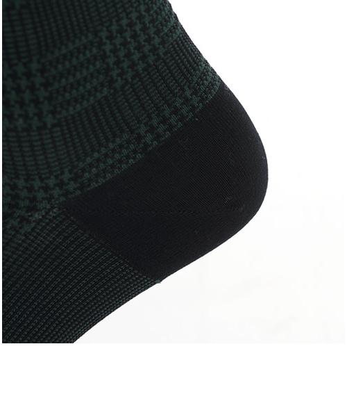 メンズ JQグレンチェックソックス27~29cm