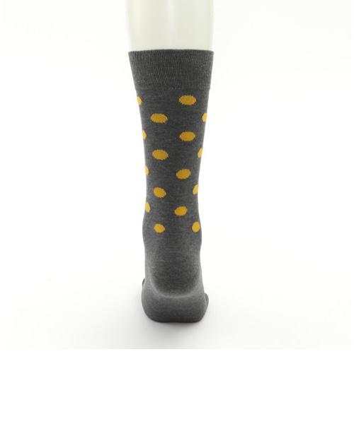 メンズ コインドットソックス27~29cm