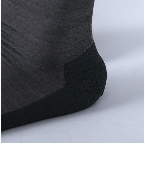 絹×綿パイルバンナービジネスソックス
