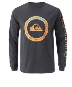 【QUIKSILVER クイックシルバー 公式通販】クイックシルバー (QUIKSILVER)メンズ / 長袖ロゴプリント Tシャツ KAHU LT