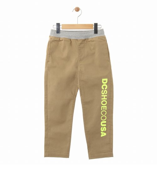 【DC ディーシー公式通販】ディーシー (DC SHOES)20 KD STRETCH CLOTH PANT パンツ ストレッチ テーパードシルエット KIDS
