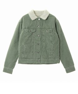 STM CORD JACKET WITH SHERPA ウィメンズ コーデュロイ