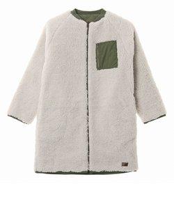 【ROXY ロキシー 公式通販】ロキシー(ROXY)ノーカラー リバーシブル ボア ジャケット WARMY COAT