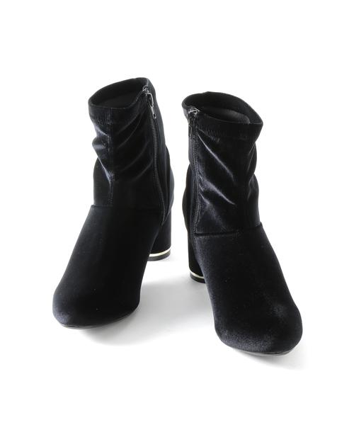 ストレッチミドル丈ブーツ