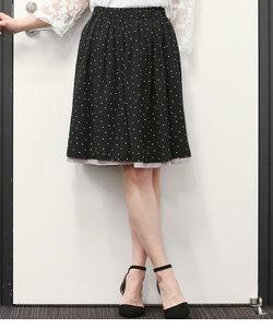 【2WAY】プリントリバーシブルスカート