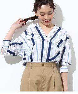 【WEB限定】ボリュームベルテッドシャツ