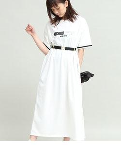 【MICHIKO LONDON KOSHINO×ViS】Tシャツワンピース