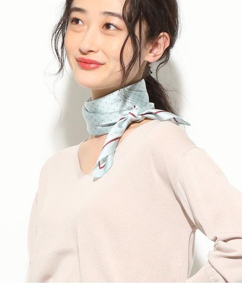 【泉里香さん着用】バラエティパターンスカーフ