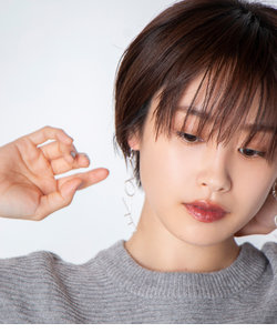 【高橋愛×ViS】【3点SET】LOVEハートピアス