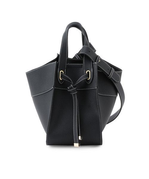 【MORE5月号掲載】【新色追加】【マルチWAY】フロントタイバッグ