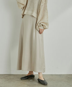 【WEB限定】オーロラツイルセミフレアースカート